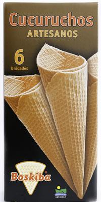 Cucurucho artesano: estuche de 6 unidades